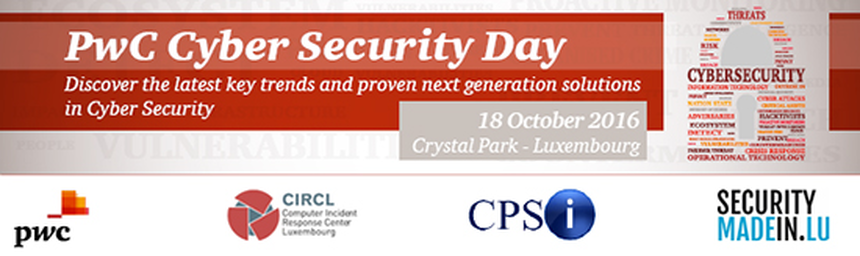 PwC Cyber Security Day 2016